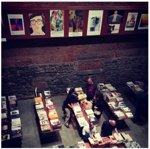 Here's an image of the book fair Lizzie worked at.