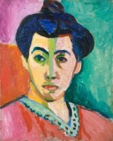 © Succession H. Matisse/BilledKunst Copydan 2012. Henri Matisse, Portrait of Madame Matisse. The Green Line, 1905.