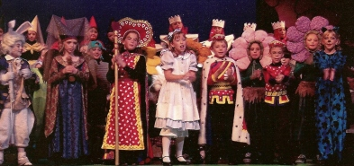 """From my childhood production of """"Alice in Wonderland"""""""
