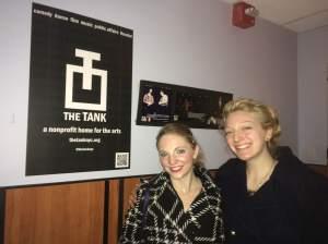 NYAP Residents Lauren Holler, left, and Shannon Waldman.