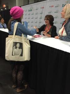 """Meg Cabot signing """"Princess in Pink"""""""