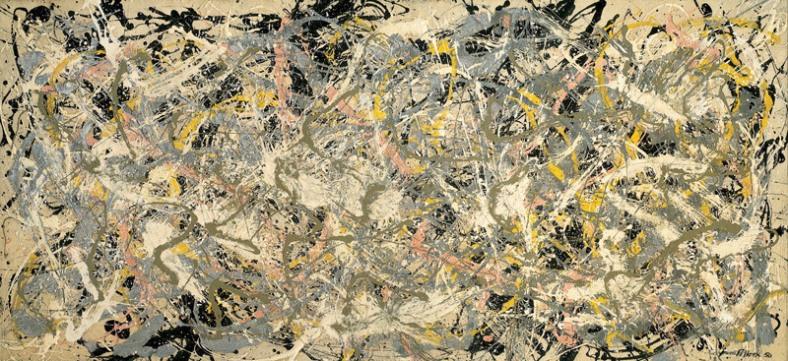 "Jackson Pollock, ""No. 27"" (1950)"