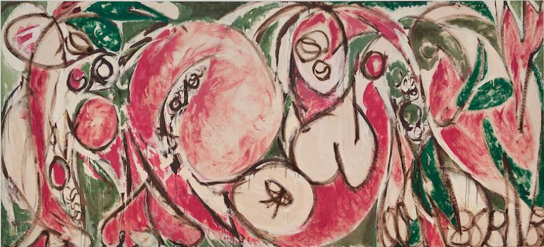 """Lee Krasner, """"The Seasons"""" (1957)"""