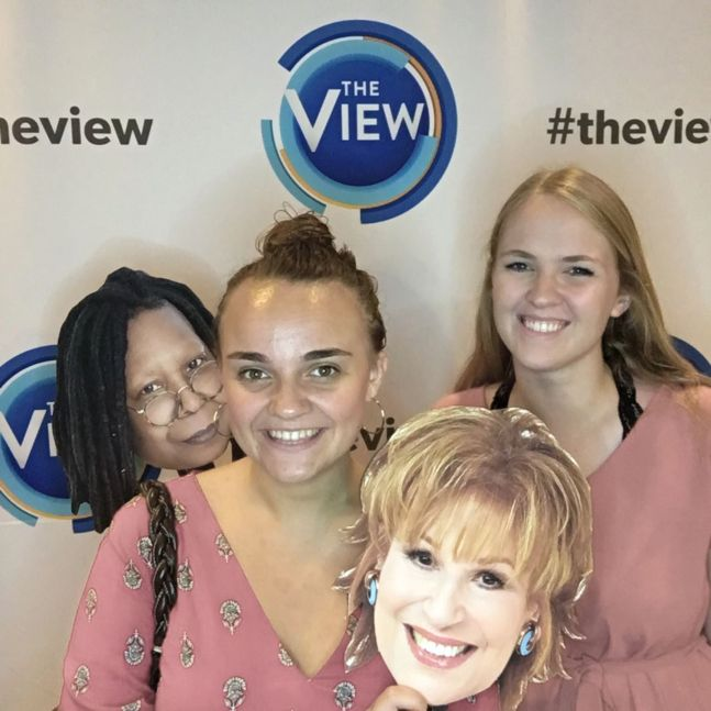 NYAP Students at The View